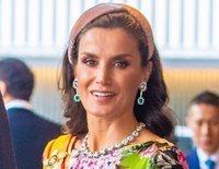 Los Reyes Felipe y Letizia en la entronización de Naruhito de Japón: sonrisas y un vestido de flores