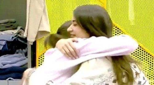 Adara Molinero y Estela Grande se reconcilian después de su discusión en 'GH VIP 7'