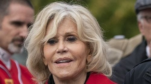 Jane Fonda, detenida por tercera vez por sus protestas contra el cambio climático