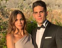 Melissa Jiménez y Marc Bartra se convierten en padres por tercera vez