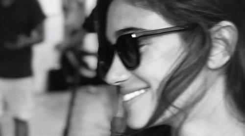 Álex González, loco por Blanca Bleis: 'Suerte la mía'