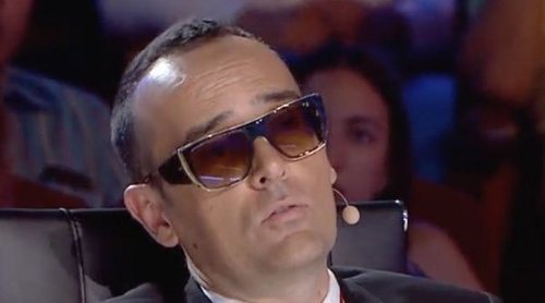 Risto Mejide desvela en 'Got Talent 5' por qué utiliza gafas de sol