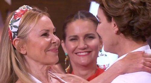 El encuentro de Ana Obregón y Antonia Dell'Atte en 'MasterChef Celebrity 4'