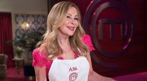 Tras su repesca, Ana Obregón es expulsada de nuevo de las cocinas de 'MasterChef Celebrity 4'