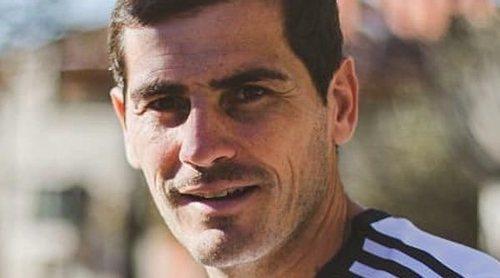 Iker Casillas vuelve a calzarse sus botas de fútbol seis meses después de su infarto