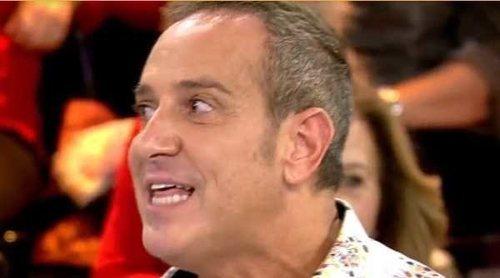 La Policía interviene entre Víctor Sandoval y Carmen Borrego en la grabación de 'Ven a cenar conmigo'