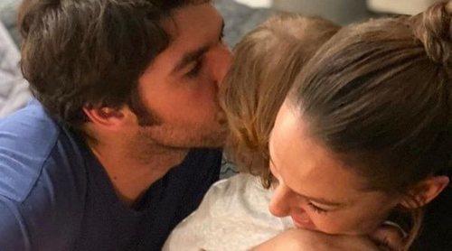 Eva González celebra su cumpleaños con los hombres de su vida: