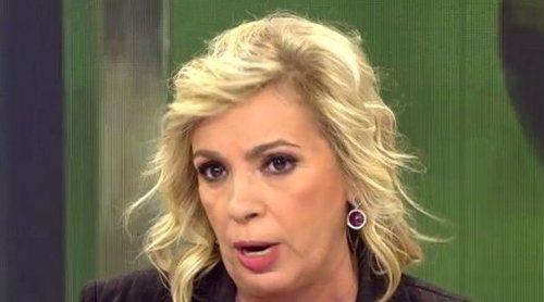 La pullita de Carmen Borrego a María Patiño: