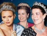 El joyero de la Familia Real de Mónaco: las escasas tiaras y joyas de las Grimaldi