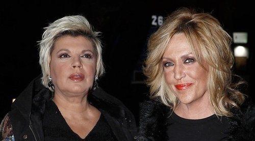 Terelu Campos no saludó a Lydia Lozano en el cumpleaños de Belén Esteban y con Gema López fue muy fría