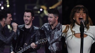 Jonas Brothers, Aitana Ocaña, Rosalía, Sam Smith... La buena música inunda Los 40 Music Awards 2019