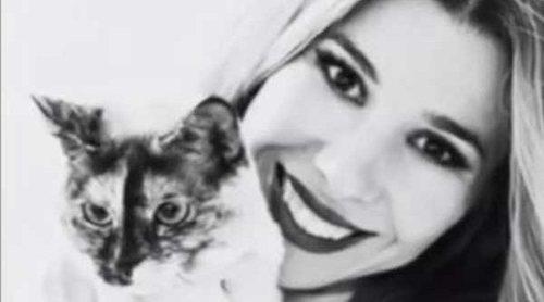 Natalia Rodríguez, devastada tras la muerte de su gata: 'Si supiera el vacío tan grande que ha dejado'