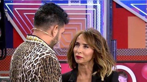 Omar Montes se sincera en 'Sábado Deluxe' y confiesa sus sentimientos reales por María Patiño
