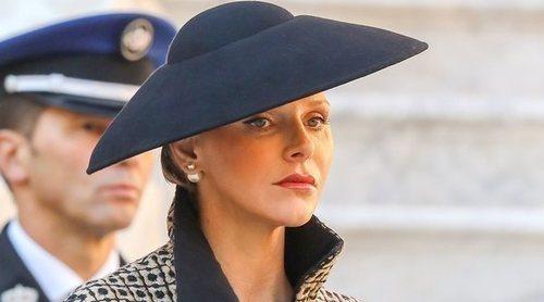 El triste viaje oficial de Charlene de Mónaco a Italia