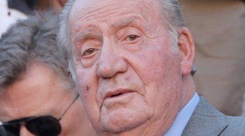 El motivo de la herida del Rey Juan Carlos con la que se dejó ver en el partido de Rafa Nadal en la Copa de Maestros