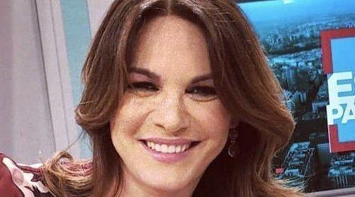 Fabiola Martínez vuelve a la televisión como colaboradora de 'Está pasando' en Telemadrid