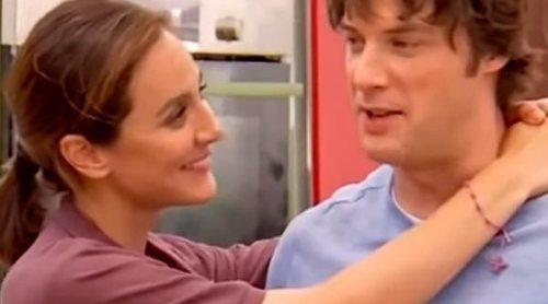 Tamara Falcó da un beso a Jordi Cruz para conseguir su ayuda en 'Masterchef Celebrity 4'