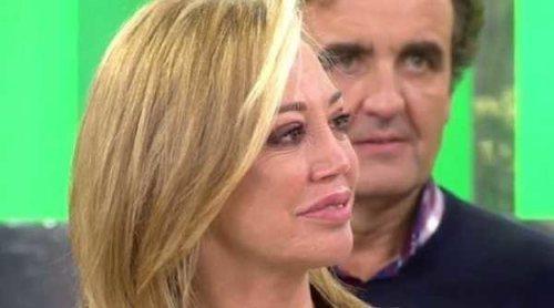 Belén Esteban rompe a llorar al ser escogida para recoger el Premio Iris de 'Sálvame'