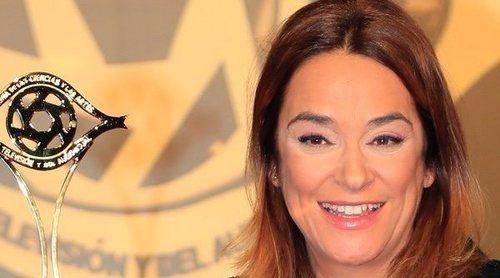 Toñi Moreno recoge su Premio Iris 2019 dedicándoselo a su padre: 'Sé que desde arriba está emocionado'