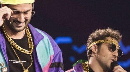 David Bisbal y Melendi enloquecen al plató de 'La Voz Kids' cantando el rap de 'El Príncipe de Bel Air'