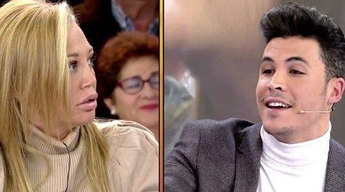 Kiko Jiménez se enfrenta a Belén Esteban y María Patiño por Rocío Flores en su visita a 'Sálvame'
