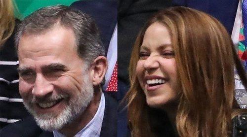 La buena sintonía del Rey Felipe y Shakira tras conocerse en la final de la Copa Davis 2019