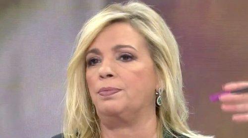 Carmen Borrego vuelve a defender a Rocío Carrasco después de la entrevista de Olga Moreno