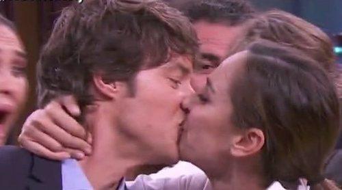 La tierna despedida de Jordi Cruz a Tamara Falcó en 'Masterchef Celebrity 4' que acaba con un beso inesperado