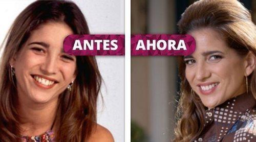 Así ha cambiado Lucía Jiménez: De Silvia en 'Al salir de clase' a Irene en 'Amar es para siempre'