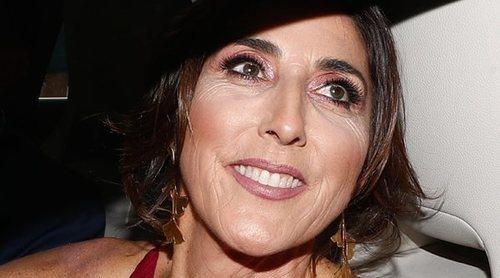 Paz Padilla sufre un accidente en 'Sálvame' al gastar una broma a los colaboradores