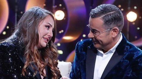 Rocío Flores se despide de Jorge Javier Vázquez entre lágrimas y muy agradecida por su apoyo en 'GH VIP 7'