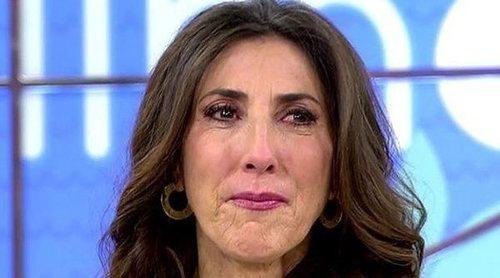 La emoción de Paz Padilla al recibir la llamada sorpresa de su madre: '¡Mi niña que va a dar las uvas!'