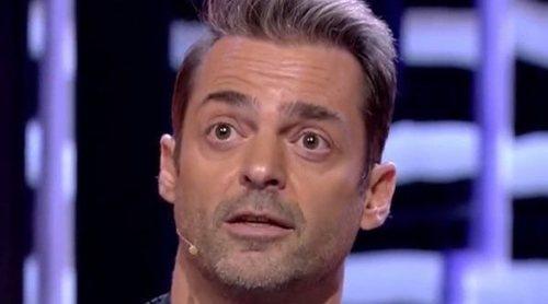 Hugo Castejón, a punto de abandonar el plató de 'GH VIP 7' tras un enfrentamiento con Gianmarco