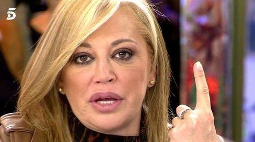 Belén Esteban defiende en 'Sálvame' a Rocío Flores de los ataques de Kiko Jiménez