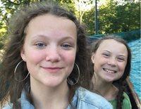 Así son y así se llevan Greta y Beata Thunberg: dos hermanas y jóvenes activistas concienciadas con el planeta