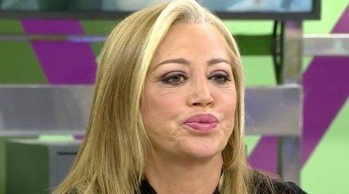 Belén Esteban responde a la entrevista de Jesulín de Ubrique: 'El que tiene la culpa de todo es el padre'
