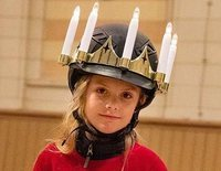Estela y Oscar de Suecia celebran Santa Lucía demostrando sutilmente que la Reina de Suecia va a ser ella