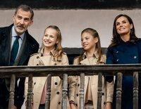 Los Reyes Felipe y Letizia, la Princesa Leonor y la Infanta Sofía felicitan la Navidad 2019 recordando su paso por Asturias