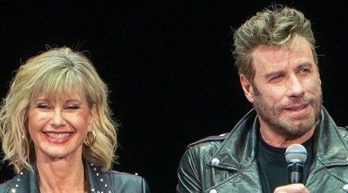Olivia Newton-John y John Travolta vuelven a vestirse de 'Grease' por primera vez desde la película