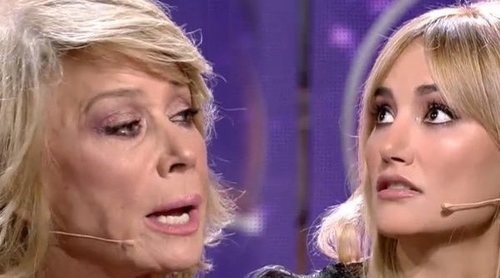 Alba Carrillo y Mila Ximénez tienen un fuerte encontronazo en el debate final de 'GH VIP 7'