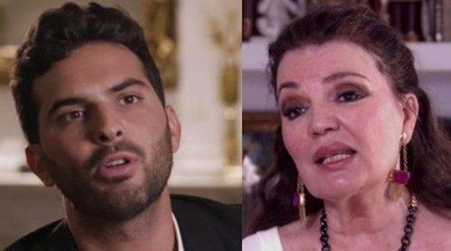 Suso Álvarez y María José Cantudo se enzarzan en una discusión en 'Ven a cenar conmigo': 'Lo menos es estudiar'