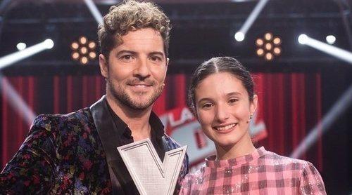 Irene Gil y David Bisbal se convierten en los ganadores de 'La Voz Kids'