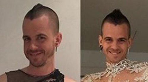 David Muñoz cumple con la tradición y vuelve a ponerse el vestido de Nochevieja 2019 de Cristina Pedroche