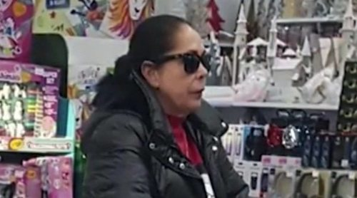 Isabel Pantoja, pillada gastándose 400€ en un bazar chino