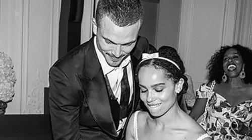 Zoë Kravitz comparte las fotos de su boda 8 meses después de que se celebrase el enlace