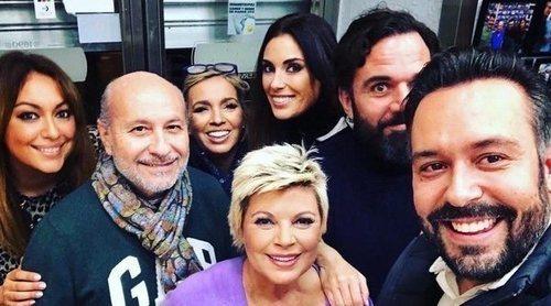 Terelu Campos y Carmen Borrego salen de cañas con sus amigos para distraerse de los problemas familiares