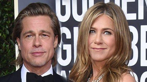 La tierna mirada con la que Jennifer Aniston miraba a Brad Pitt durante su discurso en los Globos de Oro 2020