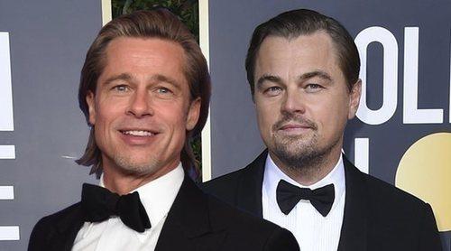 El bonito mensaje de Brad Pitt a Leonardo DiCaprio en los Globos de Oro 2020: 'Yo hubiese compartido la tabla'