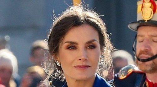La lección de estilo de la Reina Letizia presidiendo la Pascua Militar 2020 junto al Rey Felipe