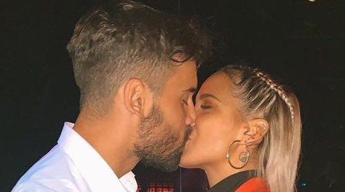 Gloria Camila Ortega confirma su relación con David con un precioso beso